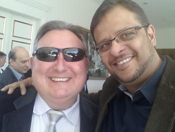 Com o amigo Prefeito Zampier de Pitanga - PR
