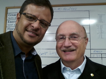 Deputado Federal Osmar Serraglio. - Presidente Estadual do PMDB Pr